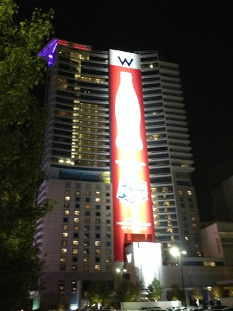 W Dallas - Victory: Outside of Building - Final Four 2014