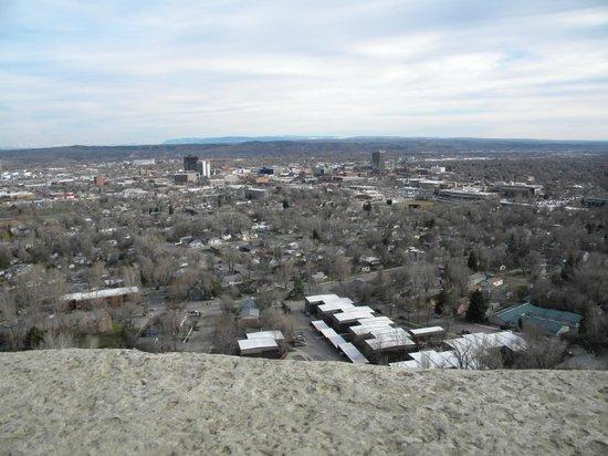 The Rimrocks: Incredible view of Billings