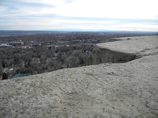 The Rimrocks: Don't get too close to the edge!