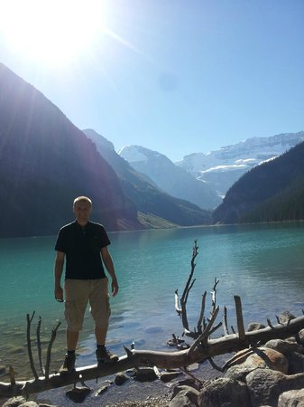 Me at Lake Louise - October
