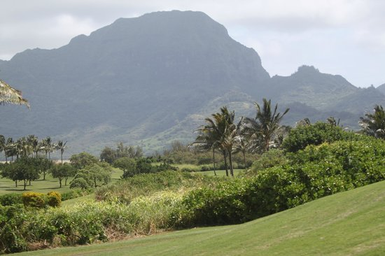 Poipu Bay Resort Golf Course: View from course