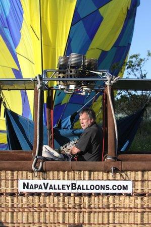 Napa Valley Balloons, Inc. : Pilot Bob