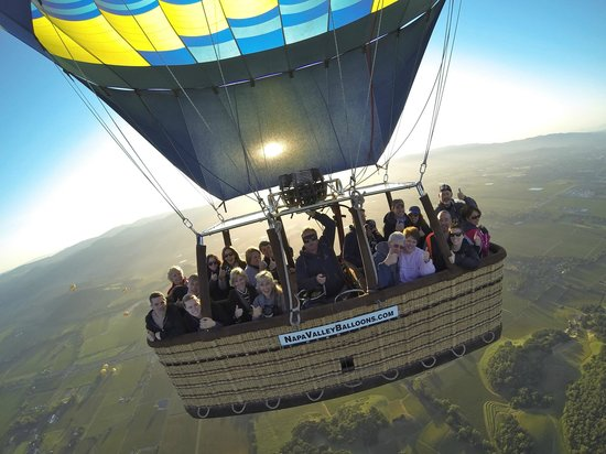 Napa Valley Balloons, Inc. : A baker's dozen and then some...
