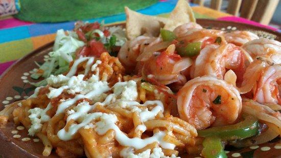 Catrina Restaurant: Camarones a la mexicana..