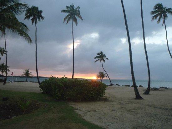 Gran Melia Golf Resort Puerto Rico : Sunset on the beach