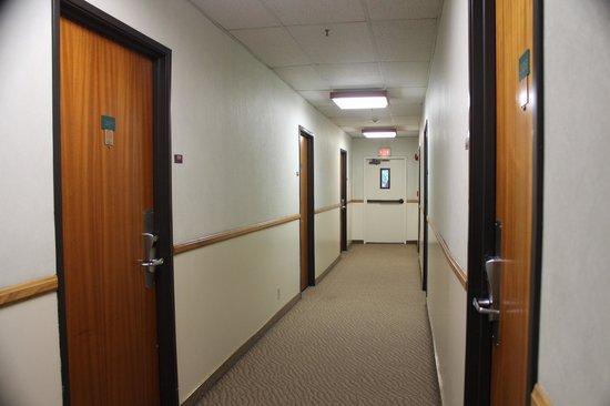 Kawada Hotel: 廊下