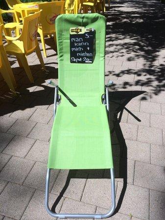 Badi Rafz Wil Kiosk: Liegestühle Vermietung