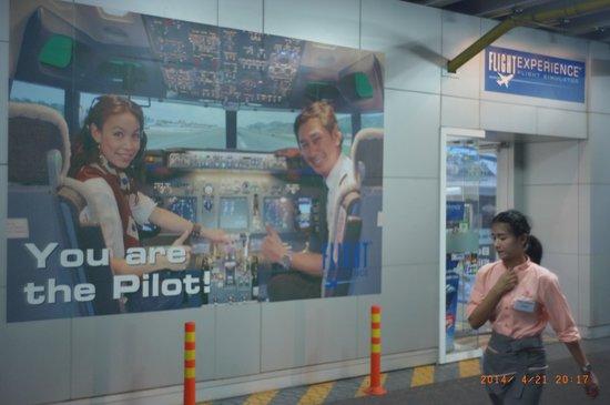 Flight Experience Bangkok: 入口
