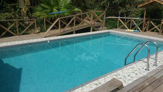 Corredores del Pacuare: piscina