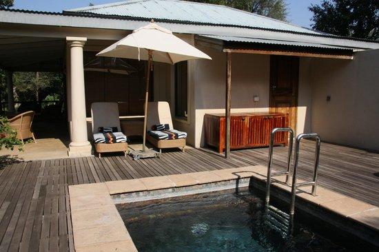 Rattray's on MalaMala: Outdoor Deck