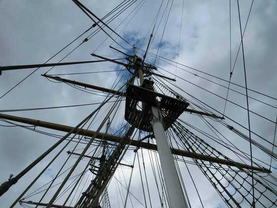 Dunbrody Famine Ship Experience: On board