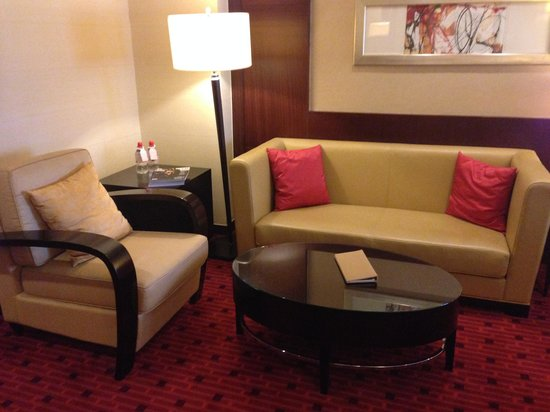 Beijing Marriott Hotel City Wall: Lounge