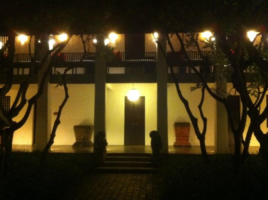 Rachamankha: view of one of the houses at night