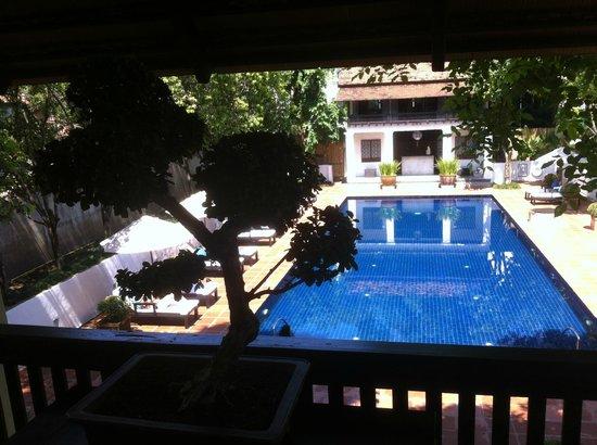 Rachamankha: wonderful pool peaceful and serene