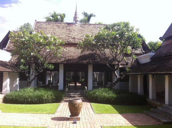 Rachamankha: one of the lovely courtyard