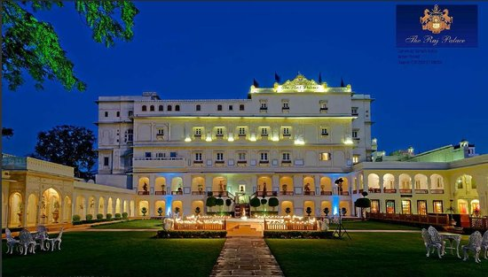 The Raj Palace Grand Heritage Hotel : Front Facade