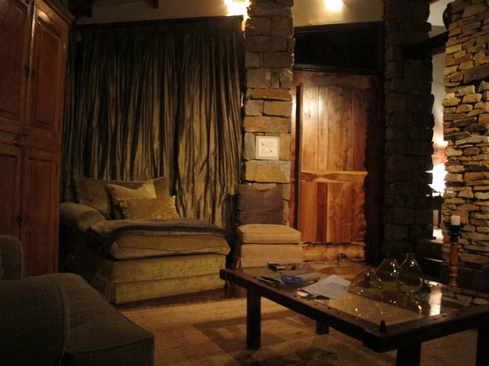 Tsala Treetop Lodge: Living Area