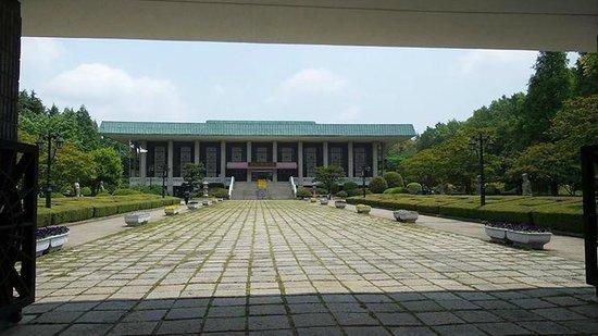 UN Memorial Cemetery: the Busan history museum