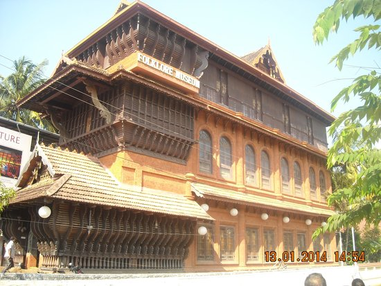 Kerala Folklore Theatre & Museum : Overall view of the Building