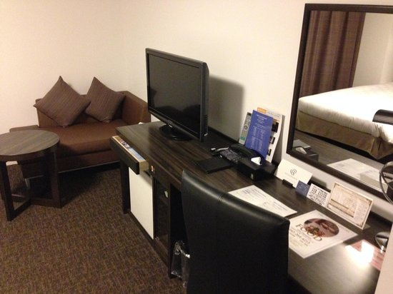 Daiwa Roynet Hotel Yokohama Koen : 寝室2