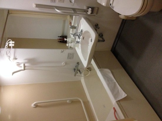Daiwa Roynet Hotel Yokohama Koen : バスルーム