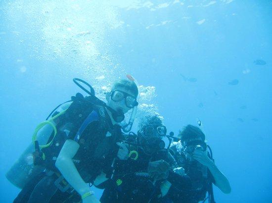 Sindbad Aqua Hotel & Spa : впервые с аквалангом