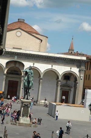Soggiorno Panerai: Vista desde nuestro cuarto