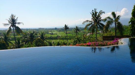 Bali Nibbana Resort : インフィニティプール