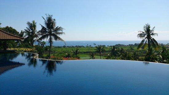 Bali Nibbana Resort : オーシャンビュー