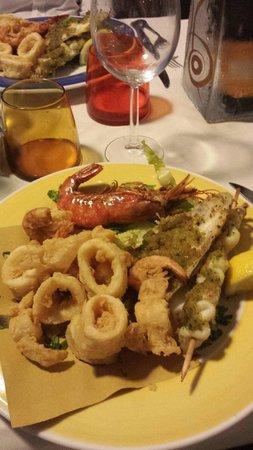 La Smorfia: Frittura+grigliata