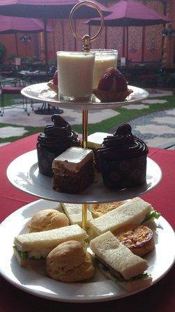 The Villas Bali Hotel & Spa: tea time