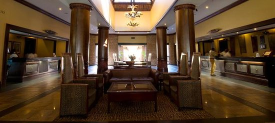 The Kingdom at Victoria Falls : View of the Reception area