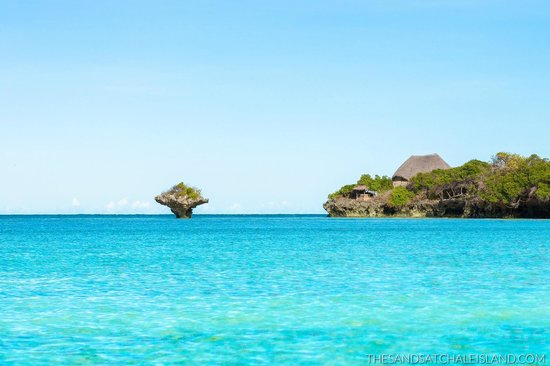 The Sands At Chale Island: The Island