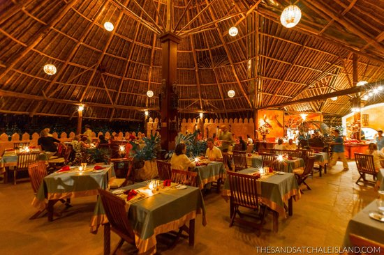 The Sands At Chale Island: Restaurant
