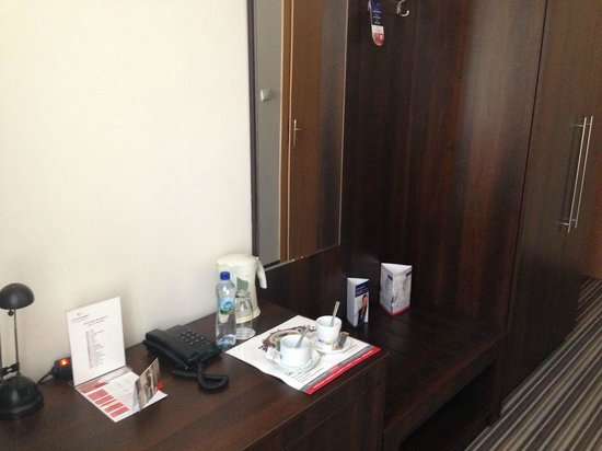 Hotel Diament Plaza Gliwice: coffee set