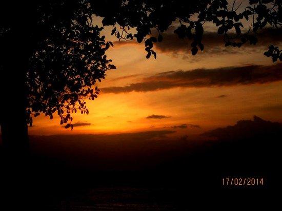 Hale Manna : amazing sunset view