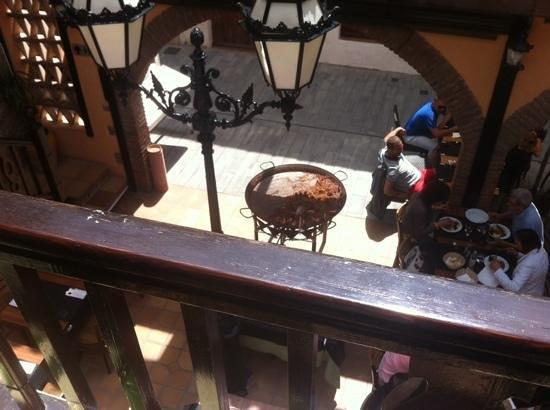 L'entrecot Restaurant Grill: ce qu'il reste de la paella apres mon passage ;-)