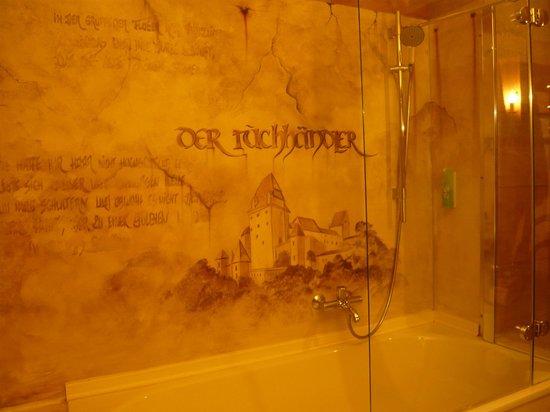Romantik Hotel Fürstenhof: Bad