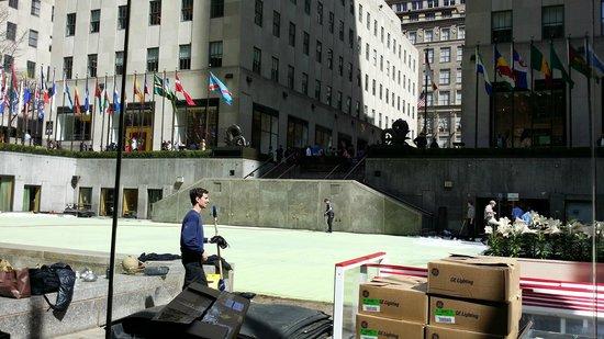Rockefeller Center: work in progress 1
