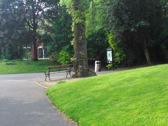 Stamford Park: main entrance