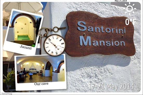 Santorini Mansion at Imerovigli : Santorini Mansion