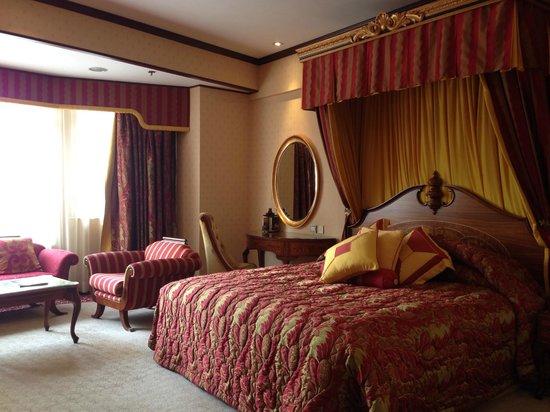 Lisboa Hotel: 室内