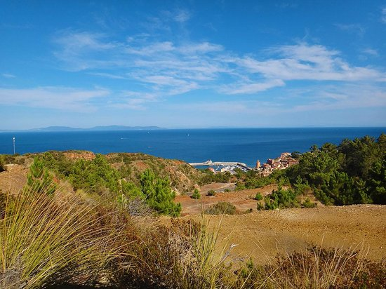 Parco Minerario dell'Isola d'Elba: View from the mine top