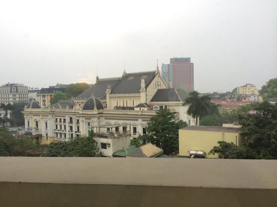 Hilton Hanoi Opera : View from the room