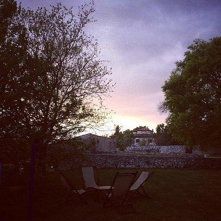 Borgo della Marmotta: sunset