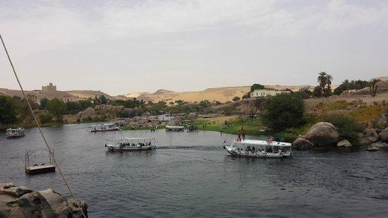 Nubian Cafe & Restaurant: vue magnifique