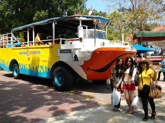 Oriental Village Langkawi: Tampak kereta ikan