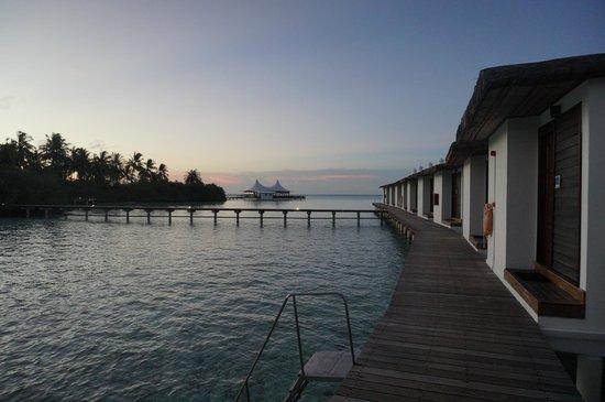 Cinnamon Hakuraa Huraa Maldives : Outside my room