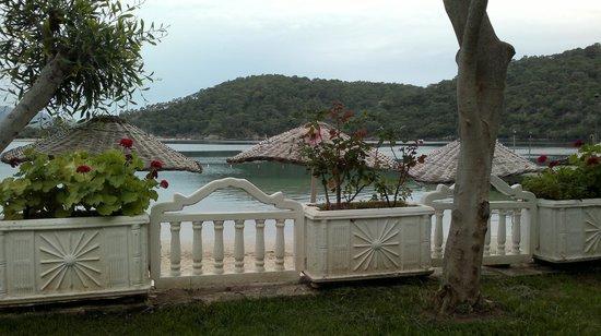 Hotel Meri: plaj ve yeşil alan