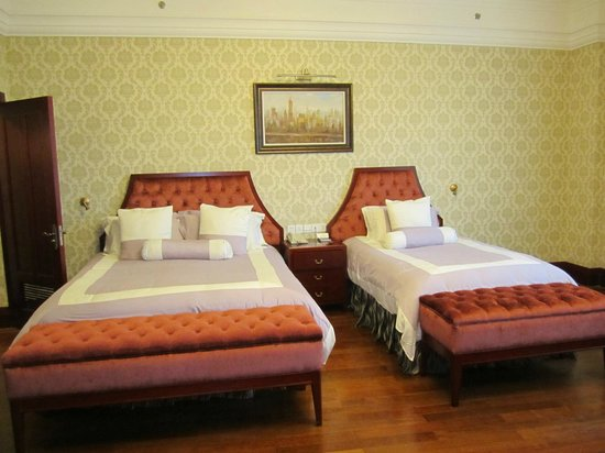 Astor House Hotel : Bed arrangments